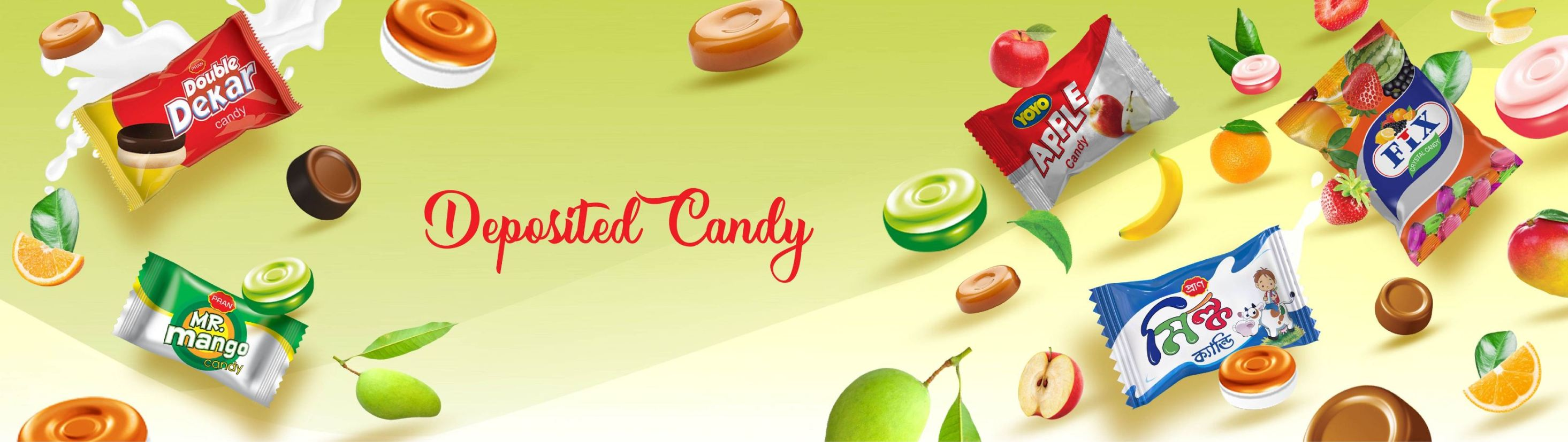 Deposited Candy