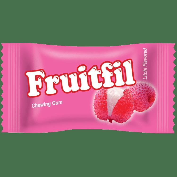 Fruitfil Chewing Gum- Litchi