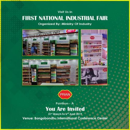 PRAN at the First National Industrial Fair