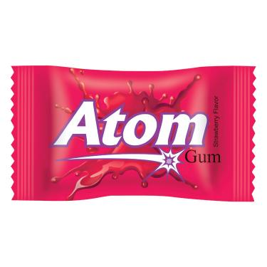 Atom Gum Strawberry