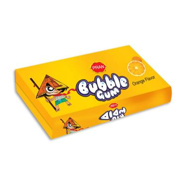 bubble gum orange