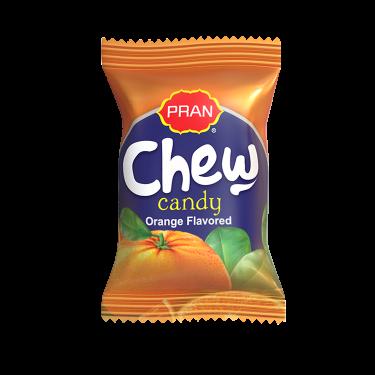 chew candy orange