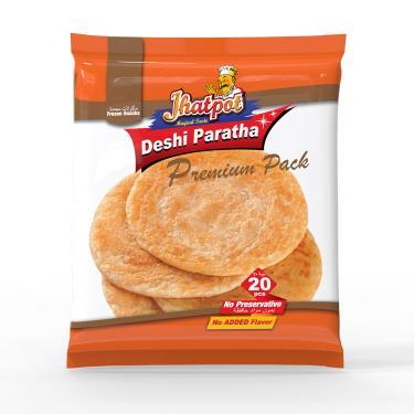 Jhatpot Deshi Paratha