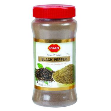 Black Pepper Powder Jar