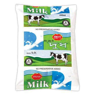 PRAN UHT Milk 200ml